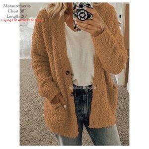 Cozy Warm Fuzzy Coat